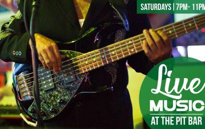 Live Band Saturday Nights