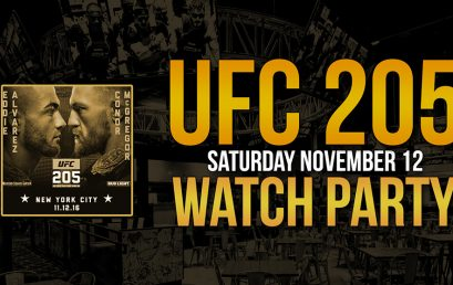 UFC 205 Watch Party