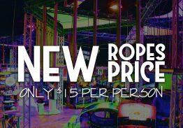More Ropes Fun… New Price!