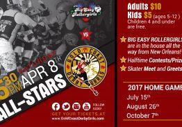 Gold Coast Derby Grrls All Stars vs. Big Easy