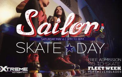 Fleet Week Sailor Skate