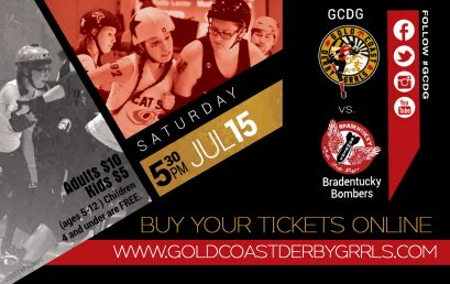 Gold Coast Derby Grrls Cat 5 vs. Big Easy