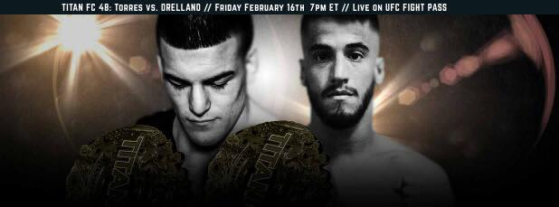LIVE Titan FC 48 MMA Fight
