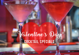 Valentine's Day Cocktail Specials at The Pit Bar