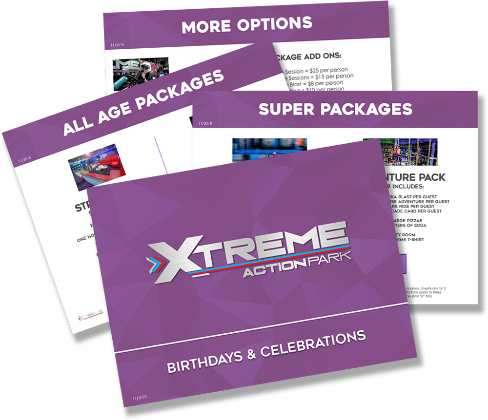 Xtreme-Party-Packages