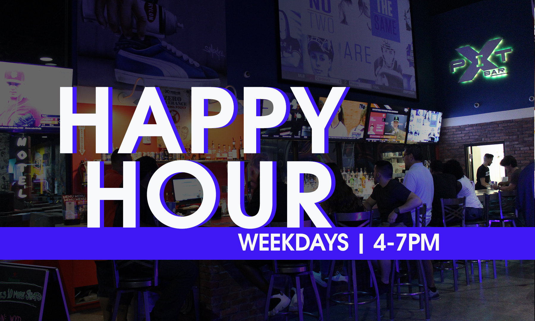 Weekday Happy Hour Special