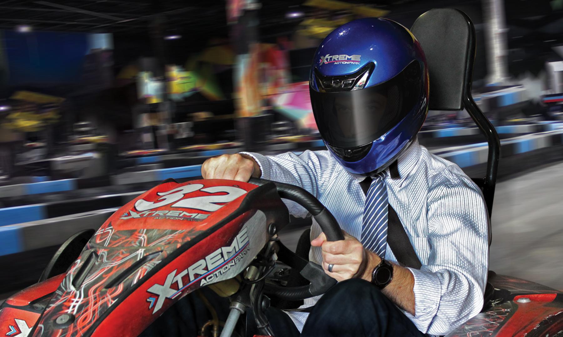 team building go kart race