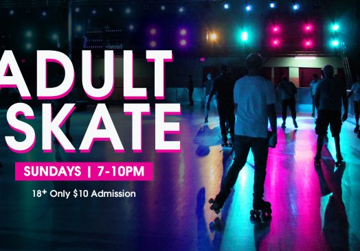 Sunday Rewind Adult Skate Night – With Special Guest!