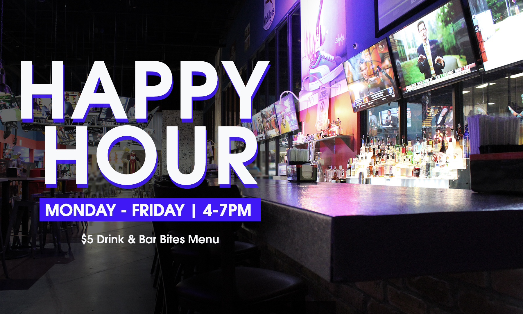 Happy Hour Weekday Special