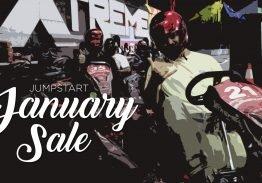 Jump Start January Sale