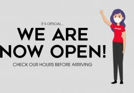 The Park is Now Open!