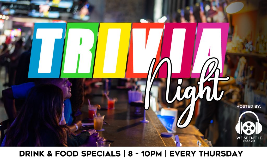 Trivia Night every Thursday at The Pit Bar