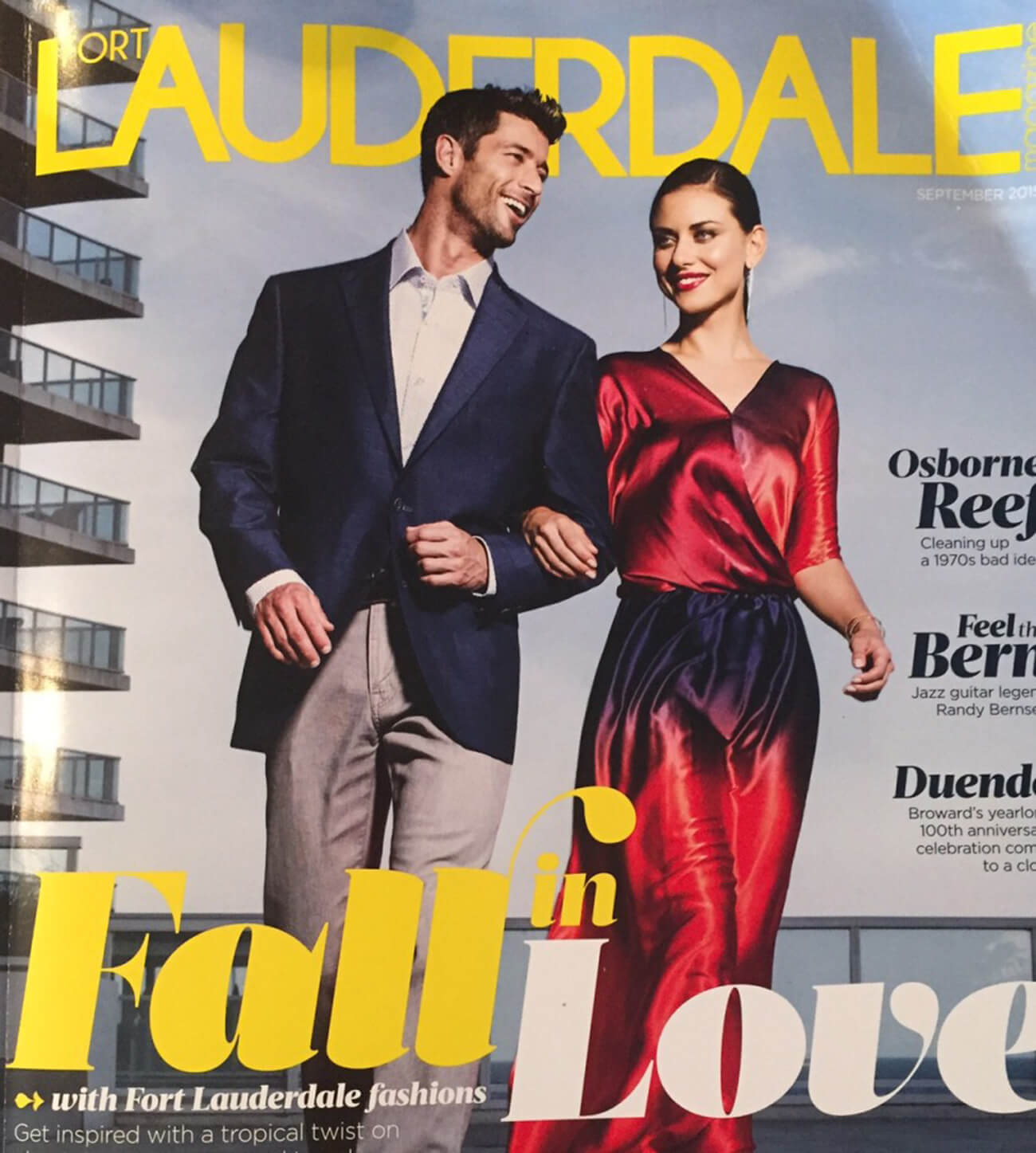 Fort Lauderdale Magazine – September 2015