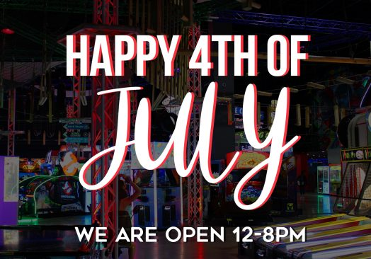 We are Open July 4th!