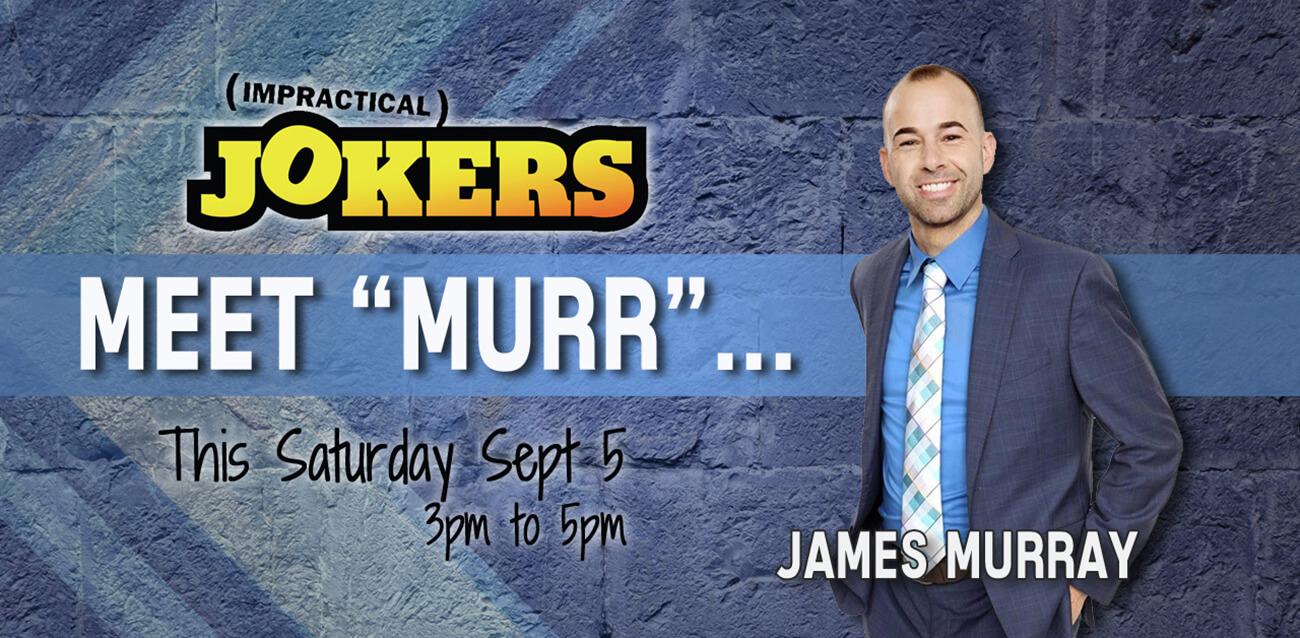 Meet impractical jokers star murr xtreme action park meet impractical jokers star murr m4hsunfo