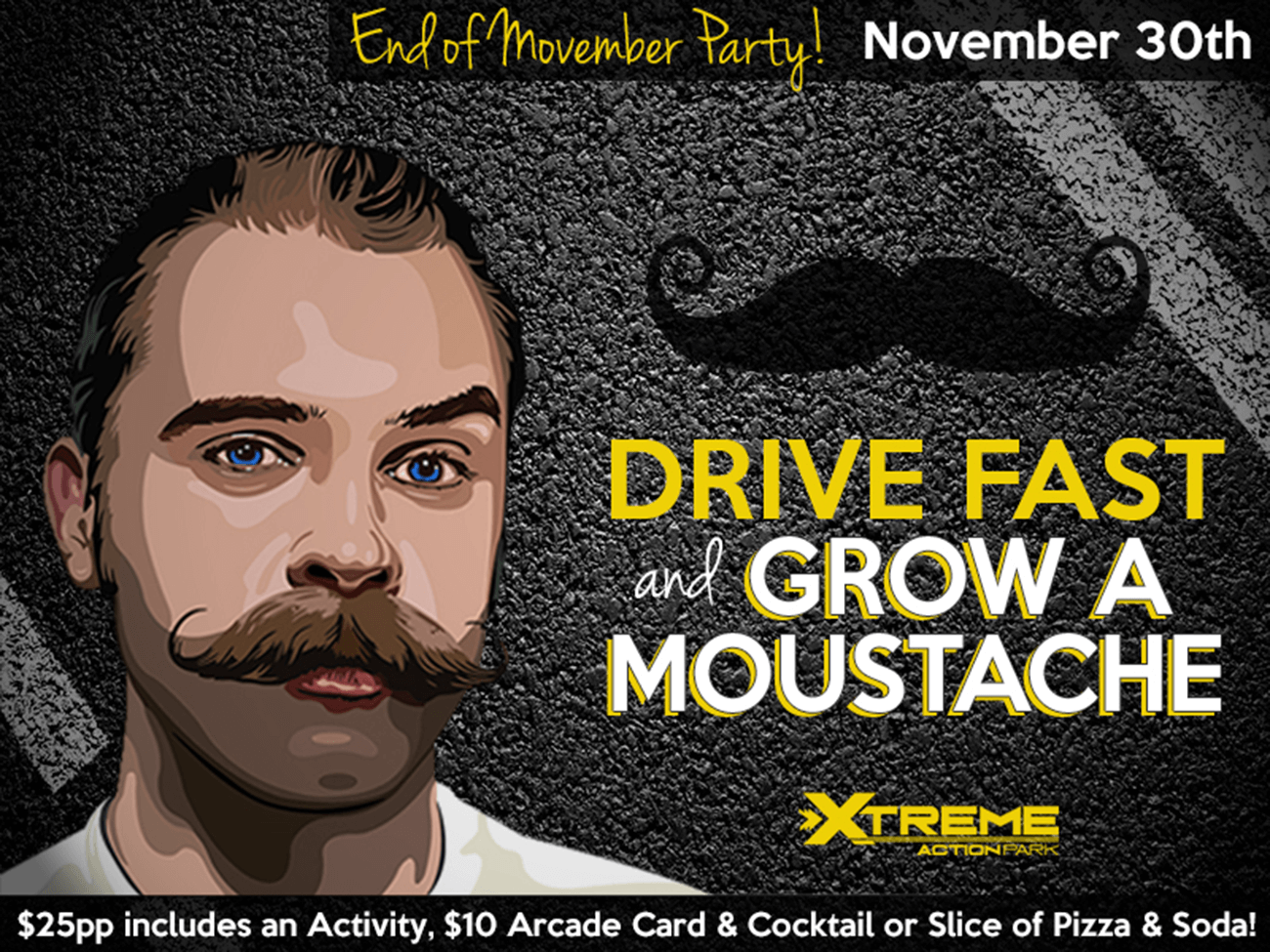 End of Movember Party!