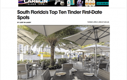 South Florida's Top Ten Tinder First-Date Spots