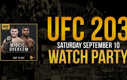 UFC 203 Watch Party