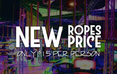More Ropes Fun… New Price!