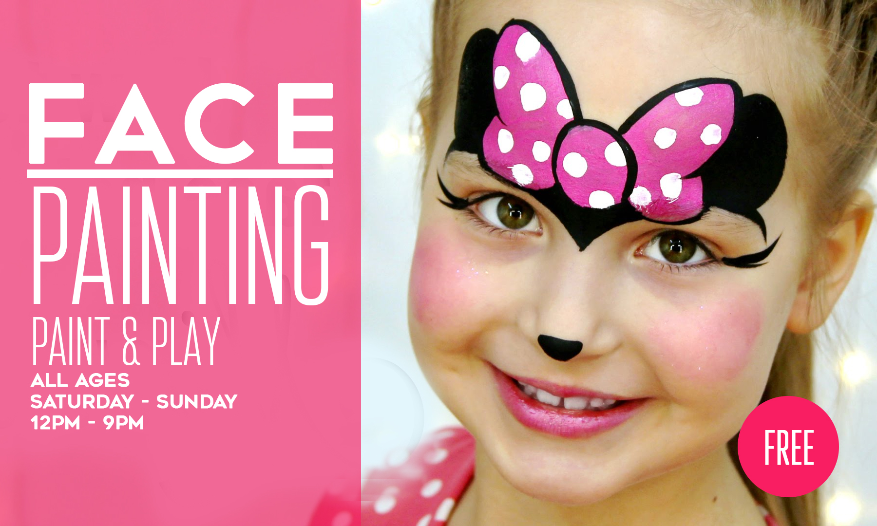 Free Face Painting At Xtreme Action Park