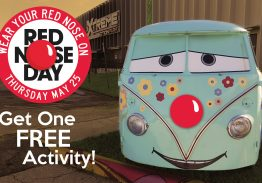 Xtreme Action Park To Celebrate Red Nose Day