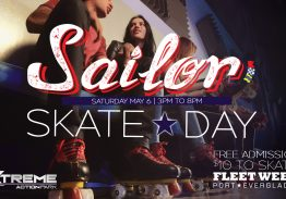 Fleet Week Sailor Skate