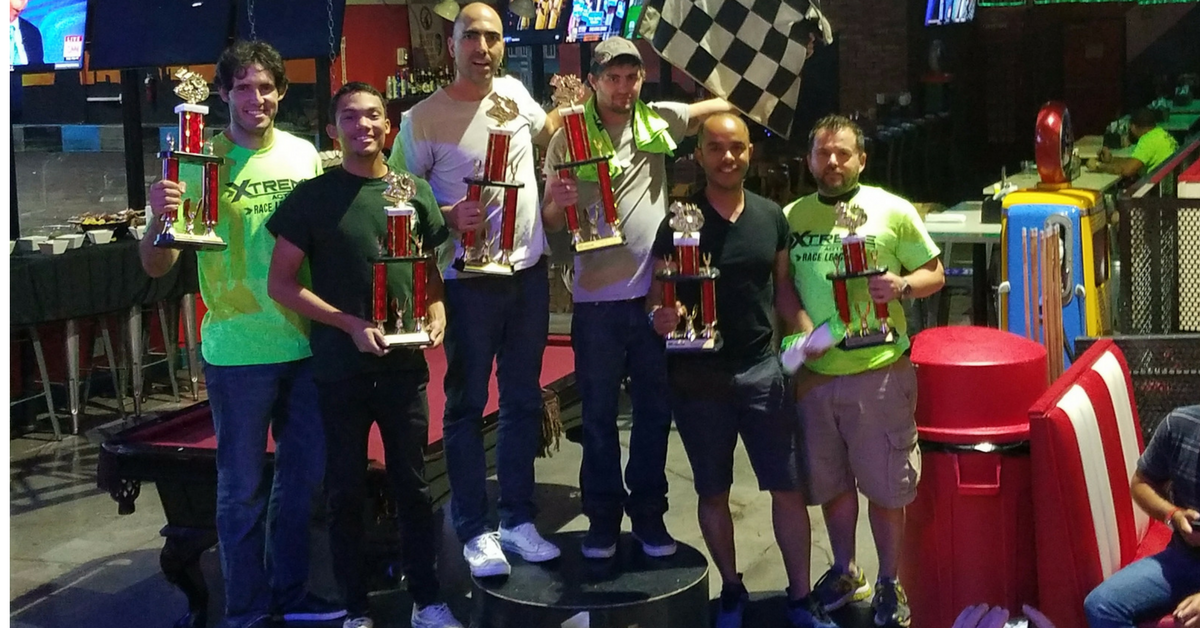 Spring Race League 2017 Winner's Circle