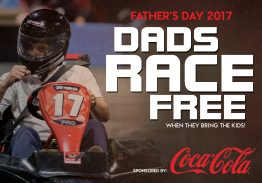 Dads Race Free on Father's Day 2017