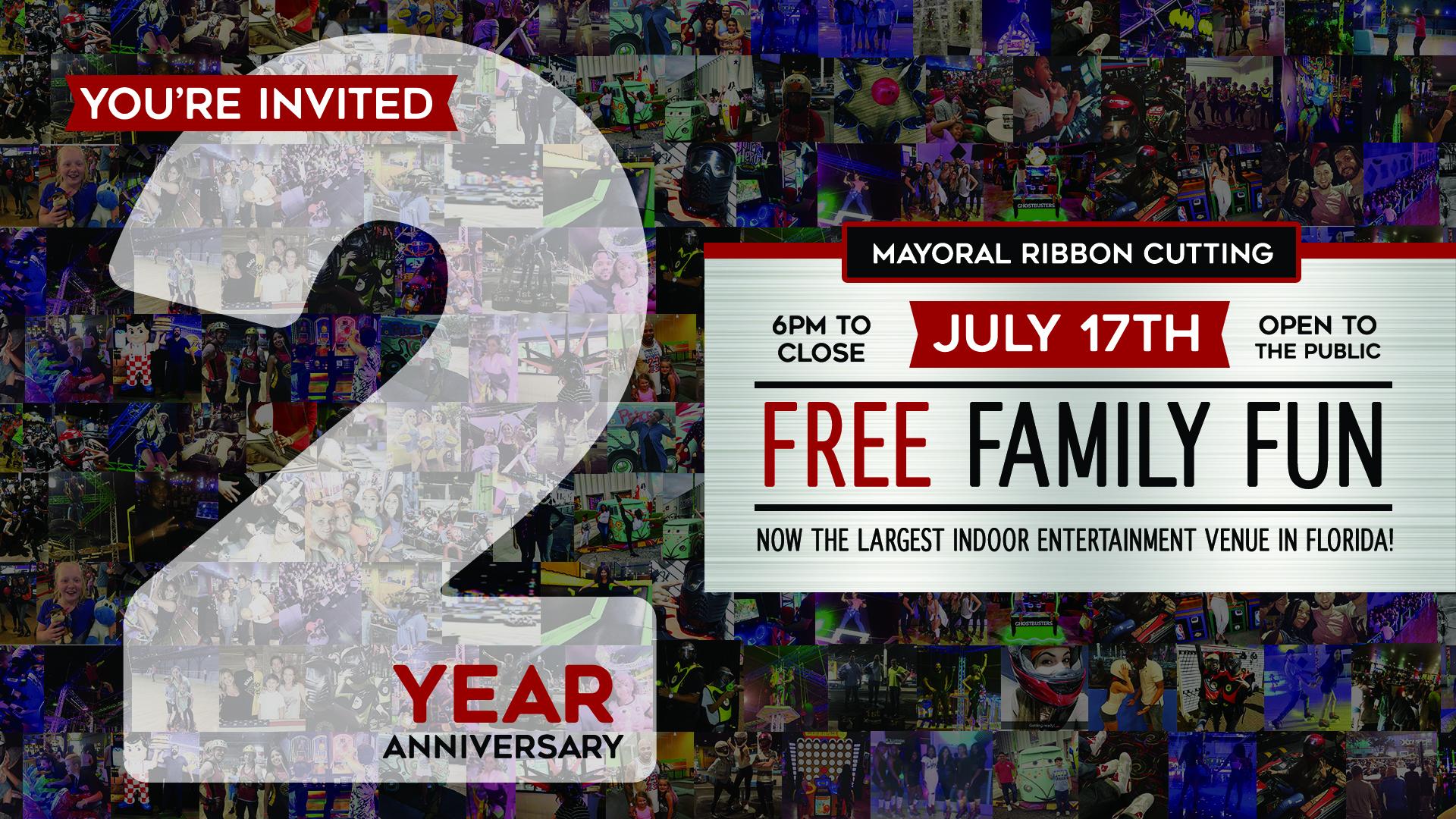 2 Year Celebration Party