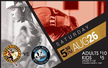 Gold Coast Derby Grrls All Stars vs. Molly Rodger Roller Girls