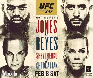 ufc 247 shown live at the pit bar