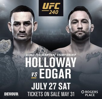 UFC 240 live on PPV from The Pit Bar