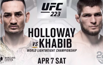 Watch UFC 223 at the Pit Bar
