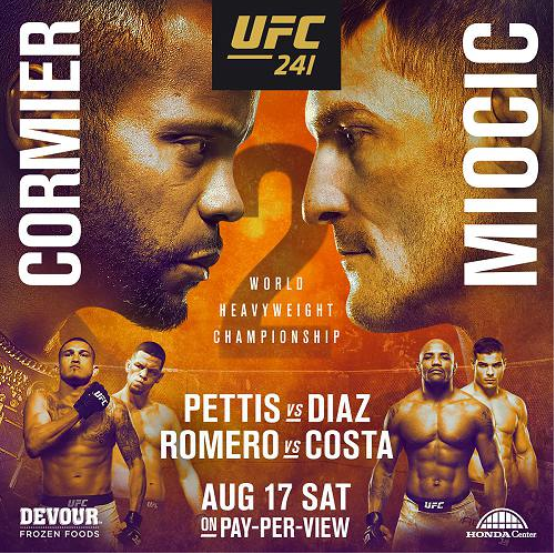 UFC 241 Live on PPV