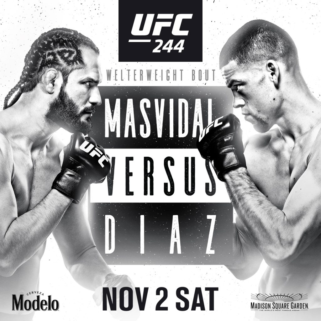 UFC 244 showing at The Pit Bar