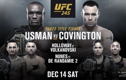 Watch UFC 245 at the Pit Bar