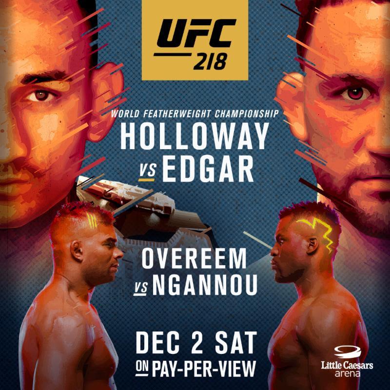 UFC 218 | Xtreme Action Park |...