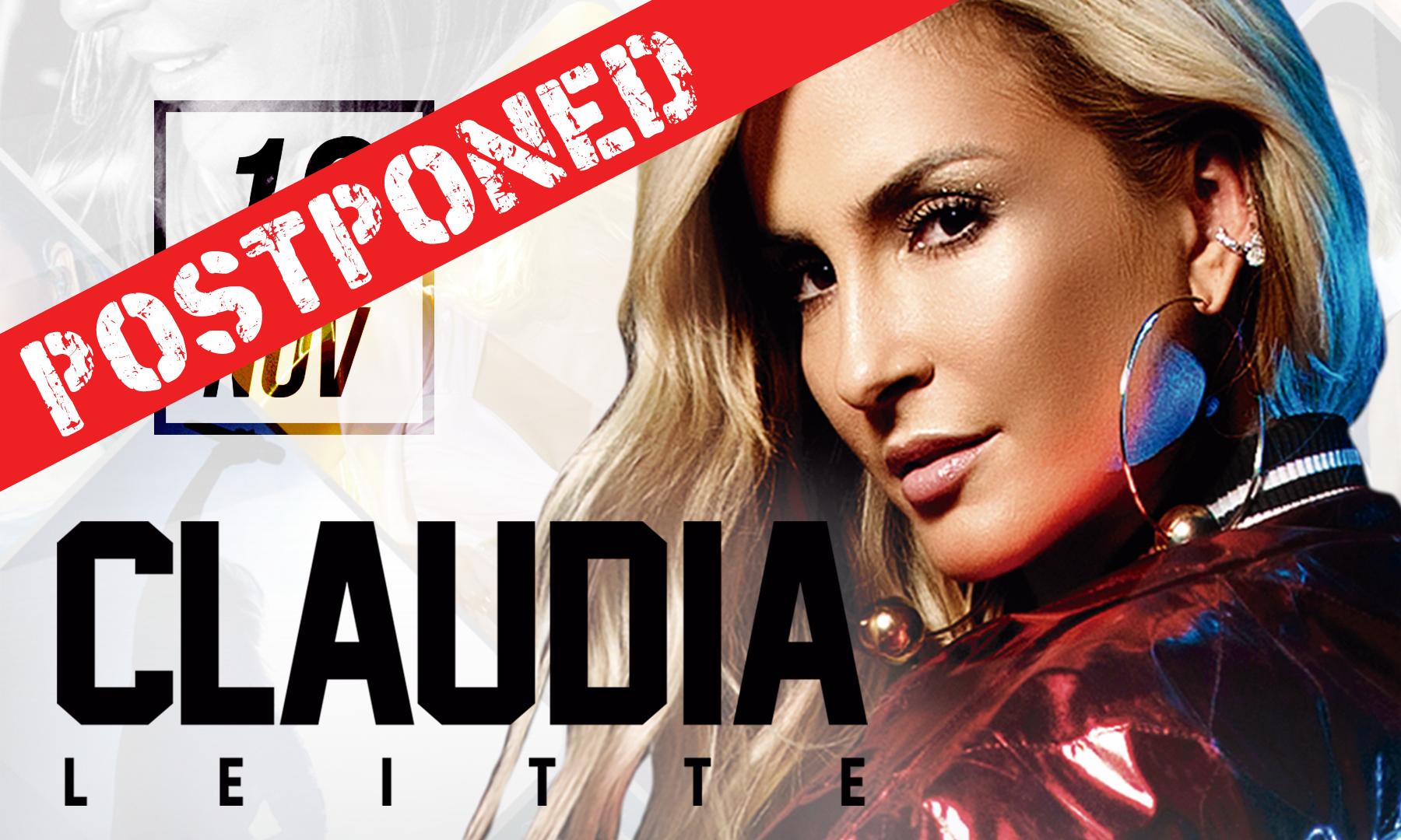 POSTPONED – Claudia Leitte USA Concert Tour 2017