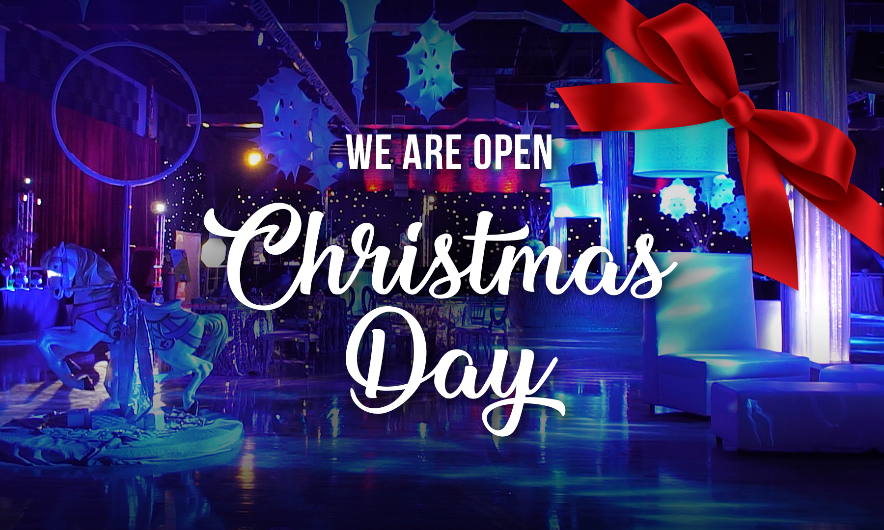 Open Christmas Day.Open Christmas Day Xtreme Action Park Corporate