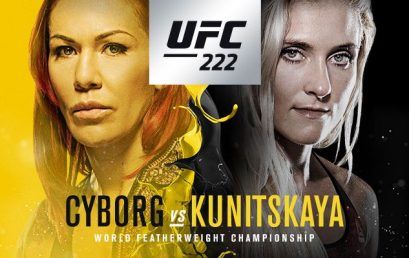 Watch UFC 222 at the Pit Bar