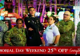 25% Off Memorial Day Weekend