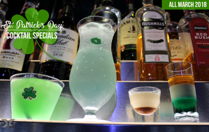 St. Patrick's Day Cocktail Specials at The Pit Bar