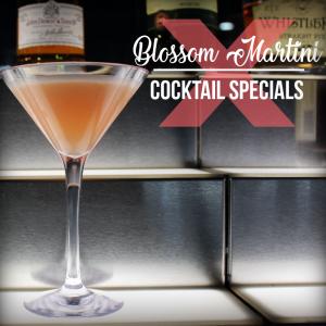 Blosson Martini April Drink Special