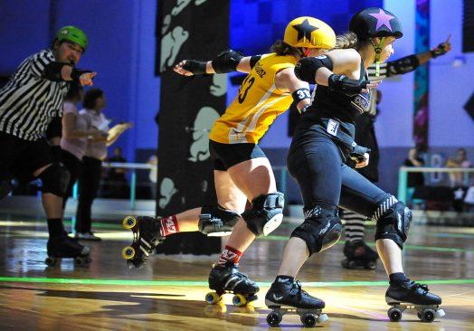 Roller Derby Grrls Practice Days – Skating CLOSED @7pm