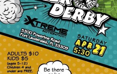 Gold Coast Derby Grrls Meanatees vs. Jammerheads