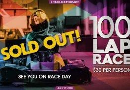 Three Year 100 Lap Race