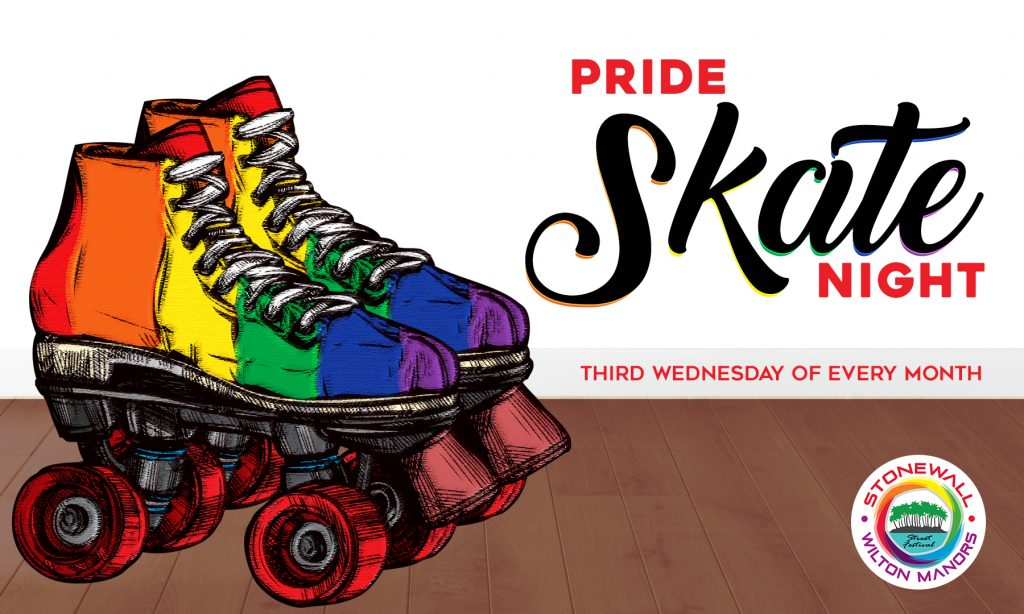 pride skate nights 3rd wednesday every month