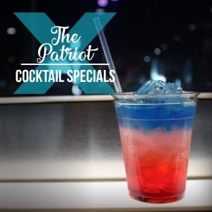 Patriot 4th of July Cocktail