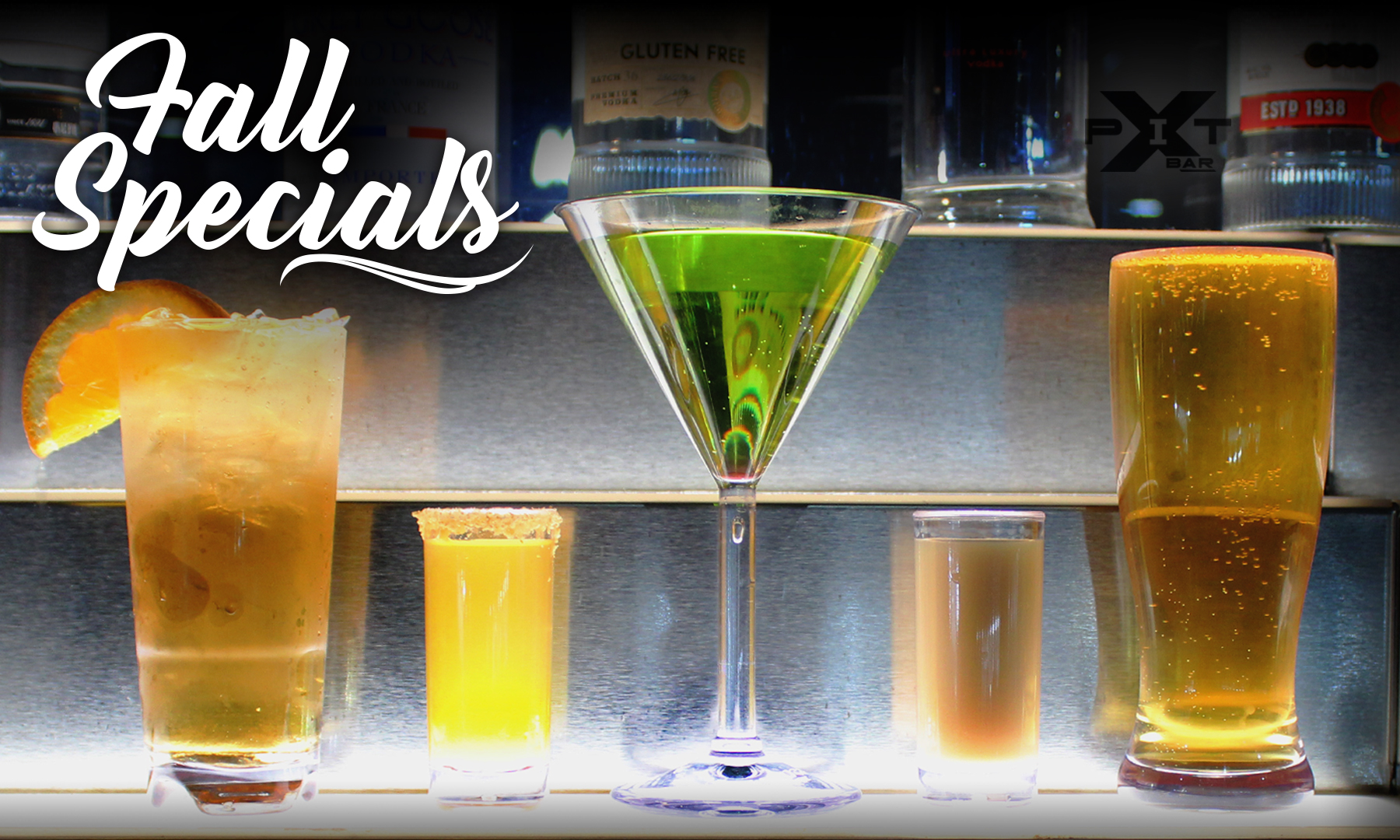 Fall Drink Specials at The Pit Bar