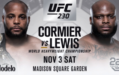 Watch UFC 230 at the Pit Bar